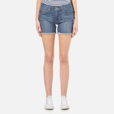 Levi's Women's Mid Length Short Update Shorts Mariposa Road