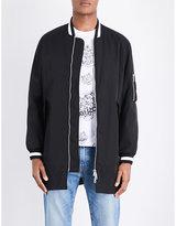Kenzo Signature-print Shell Jacket