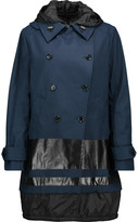 Belstaff Barnette shell-paneled cotton-blend hooded coat