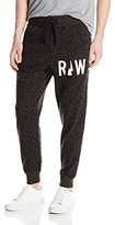 G Star Men's Micro Forest Sweat Pants In Sherland Micro Asfalt Allover