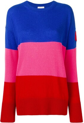 Moncler Colour-Block Cashmere Jumper