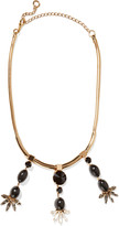 Marni Embellished gold-tone necklace