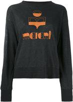Etoile Isabel Marant Klowia knitted jumper - women - Linen/Flax - XS