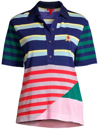 Tommy Hilfiger Collection Striped Knitted Polo