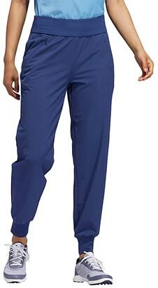 adidas Stretch Jogger Pants (Tech Indigo) Women's Casual Pants