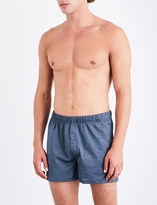 Hanro Striped relaxed-fit cotton-jersey boxers