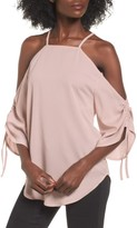 The Fifth Label Women's The Future Dream Ruched Cold Shoulder Top