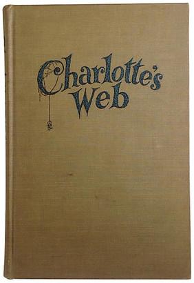 One Kings Lane Vintage Charlotte's Web - 1st Ed - Brandywine Bookshop - multi
