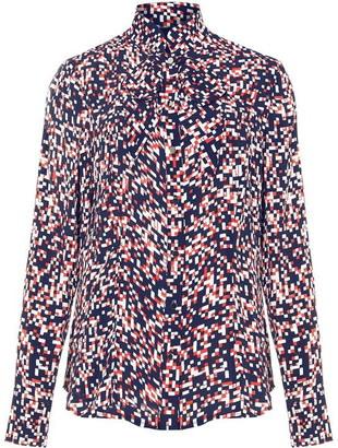Damsel in a Dress Anoukis Check Print Blouse