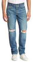 Rag & Bone Slim Distressed Jeans