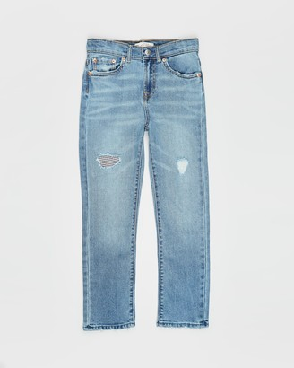 Levi's High Rise Ankle Straight Jeans - Teens