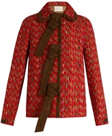 Marco De Vincenzo Wool-blend tweed jacket