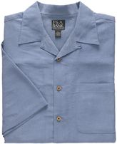Jos. A. Bank Factory Store Jacquard Palm Short Sleeve Sportshirt