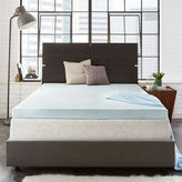 PURASLEEP PuraSleep 3 OptiPlush Cool Comfort Memory Foam Mattress Topper