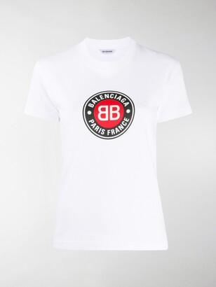 Balenciaga Club Logo print T-shirt