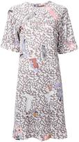 Theatre Products multiple prints T-shirt dress