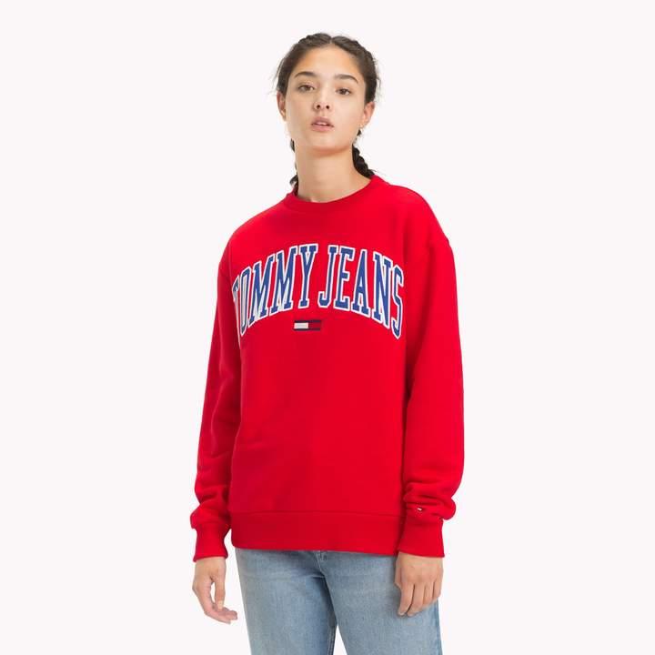 b625095d1 Tommy Hilfiger Red Women's Sweatshirts - ShopStyle