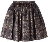 Kenzo 'Eyes' jacquard skirt - women - Polyester/Metallized Polyester - 36
