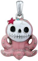 Summit Pink Octopus Octopee Furry Bones Collectible Pendant Necklace