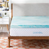 Asstd National Brand Linenspa 3 Inch Gel Swirl Memory Foam Mattress Topper