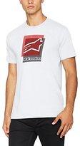 Alpinestars Men's Overlap Tee Casual Shirt,14.5 (Manufacturer Size: )