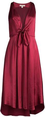Joie Kataniya Plunging A-Line Dress