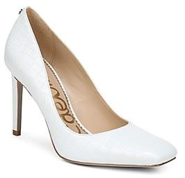 Sam Edelman Women's Beth Square Toe High Heel Pumps