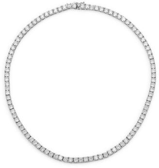 Fallon Monarch Grace Pave Collar Necklace