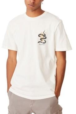 Cotton On Men's Graphic Art T-shirt