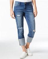 Calvin Klein Jeans Ripped Halsey Wash Boyfriend Jeans