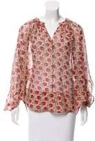 Tamara Mellon Silk Oversize Top