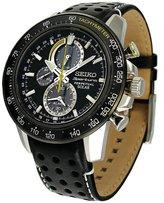 Seiko Men's SSC361 Leather Quartz Watch