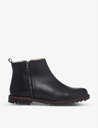 Bertie Prestley leather ankle boots