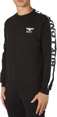 Boy London Black Cotton Men's Sweatshirt