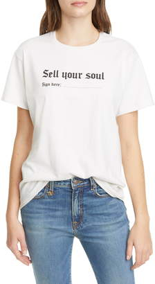R 13 Sell Your Soul Boy Tee