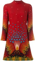Valentino 'Volcano' print dress - women - Silk/Virgin Wool - 38