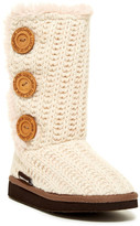 Muk Luks Malena Faux Fur Lined Boot (Toddler & Little Kids)