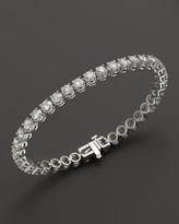 Bloomingdale's Certified Diamond Tennis Bracelet in 14K White Gold, 10.0 ct. t.w.