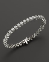 Bloomingdale's Certified Diamond Tennis Bracelet in 14K White Gold, 8.0 ct. t.w.