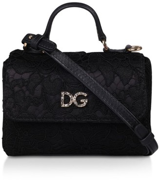 Dolce & Gabbana Small Lace Cross-Body Bag