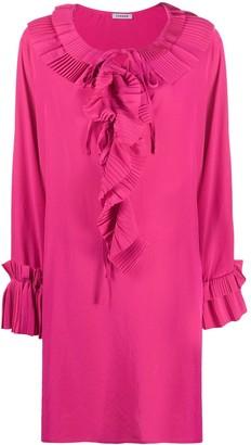 P.A.R.O.S.H. Loose Ruffled Trim Dress