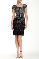 JS Boutique Ombre Sheath Cocktail Dress
