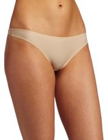 Carnival Womens Seamless Laser Thong Panty