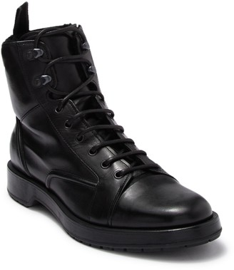 BOSS Montreal Lug Genuine Lamb Fur Lined Combat Boot
