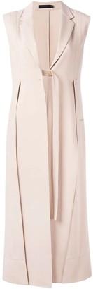 Calvin Klein Long Neutral Waistcoat