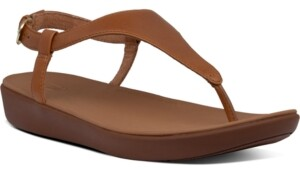 FitFlop Lainey T-Strap Slingback Thong Sandals Women's Shoes