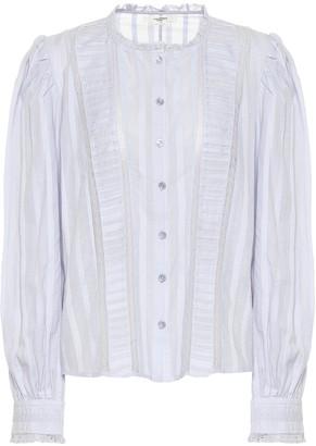 Etoile Isabel Marant Peachy cotton blouse