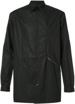Y-3 button up shirt jacket - men - Cotton - L