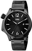 Edwin BROOK Men's Stainless Steel 3-Hand Date Watch with Stainless Steel Band and Dial