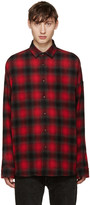 John Lawrence Sullivan Johnlawrencesullivan Red Plaid Flannel Shirt